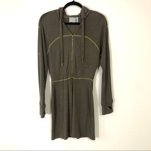 ATHLETA sucker punch rib hoodie dress